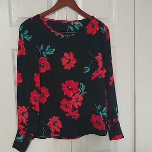 Express Black Long sleeve size small